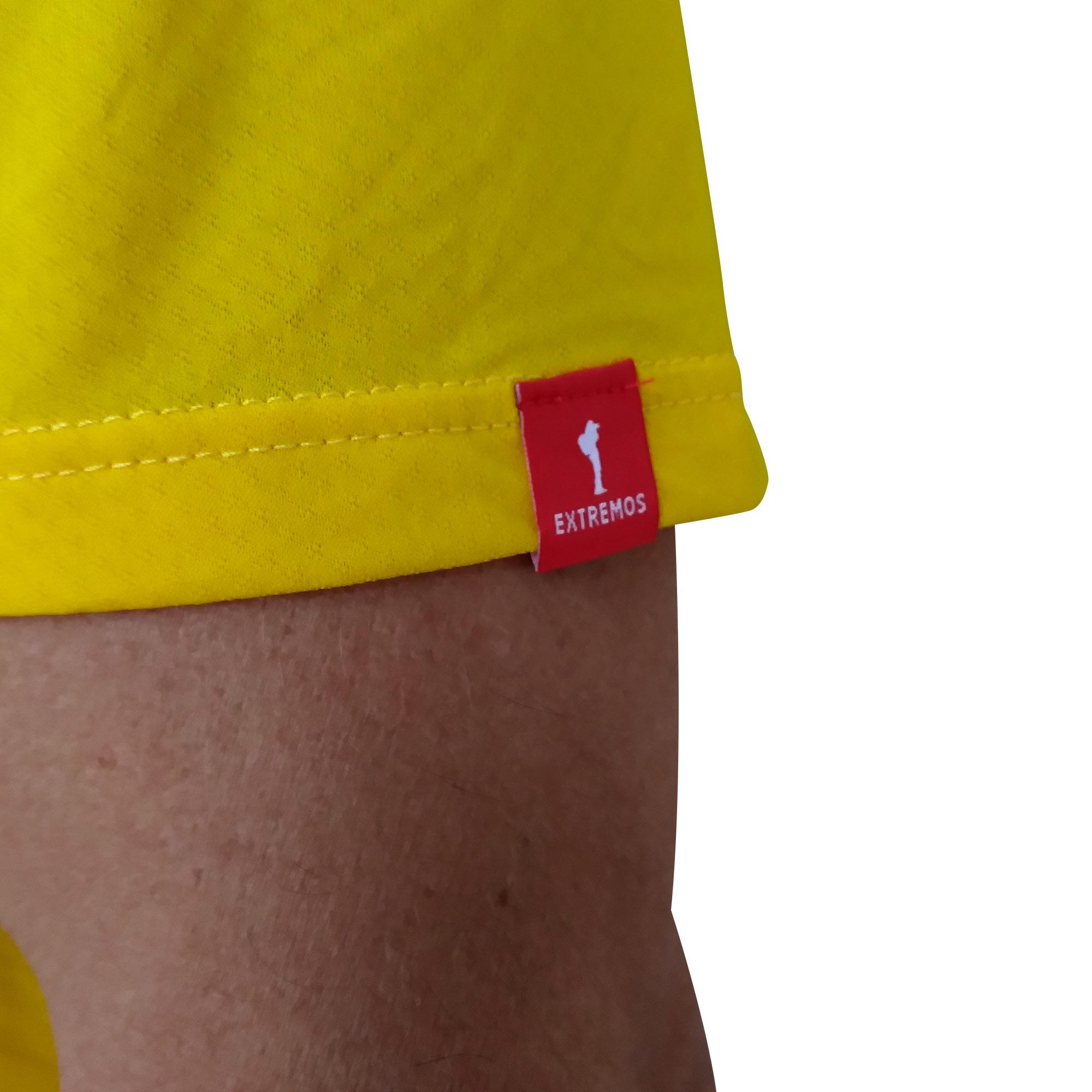 Camiseta MASC Extremos Everest Amarelo