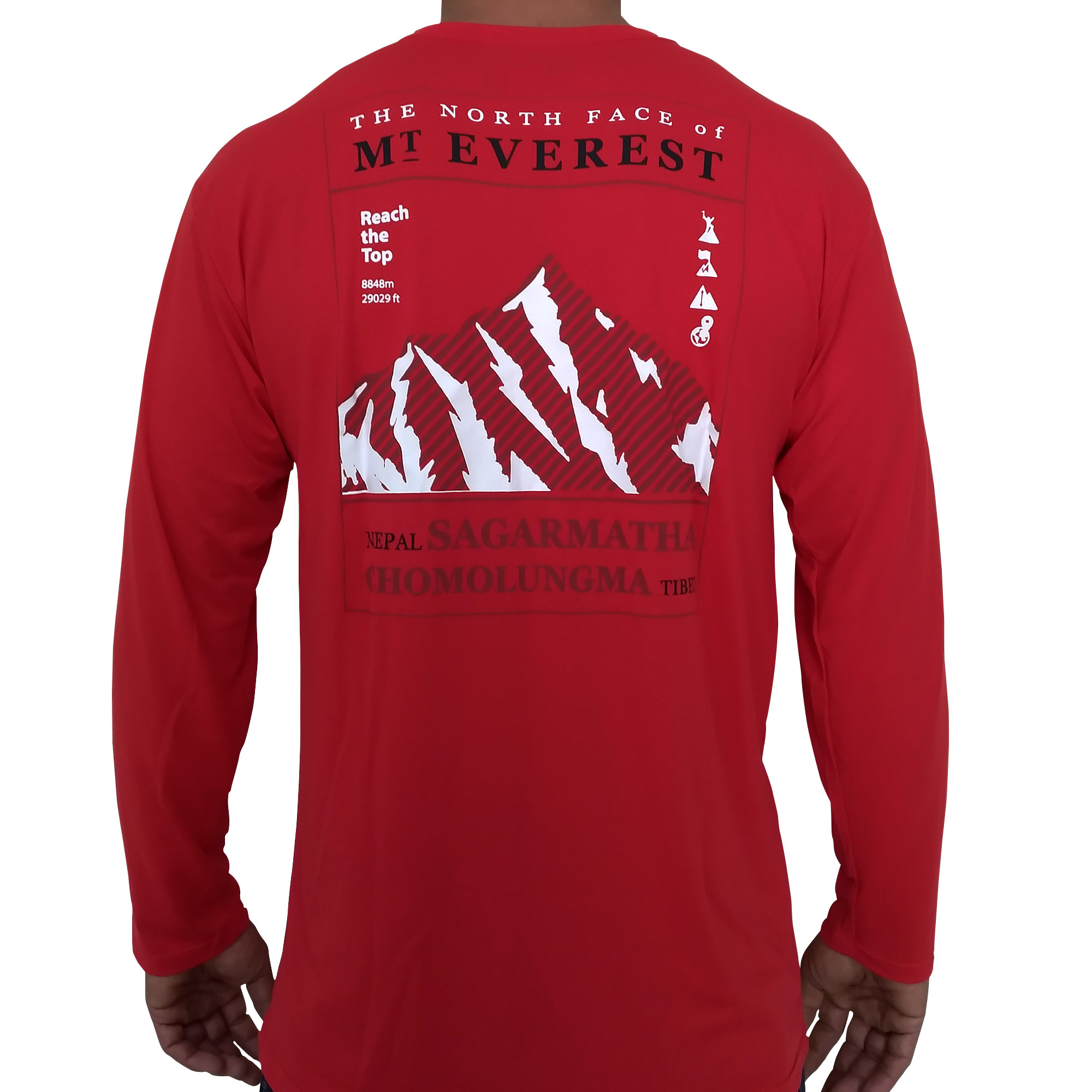 Camiseta MASC Extremos Everest Vermelho