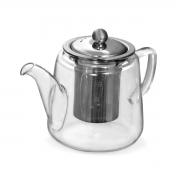 Bule de chá vidro com infusor 19x11x12cm 600ml Mimo Style