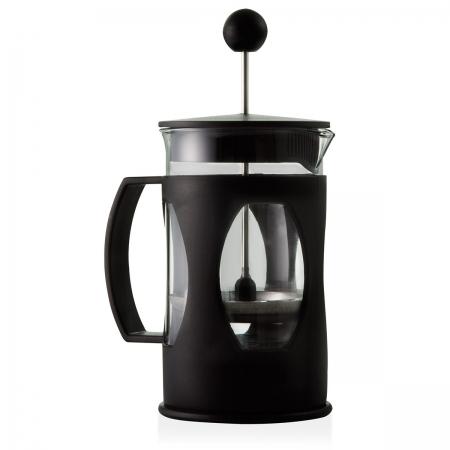Cafeteira prensa francesa preto 350ml 17x7,5cm Mimo Style