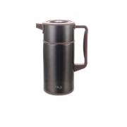 Garrafa térmica Scala preta 1 litro 18x11x22,5cm Brinox