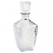Garrafa vidro para whisky 9,5x24cm 800 ml Lijita Mimo Style