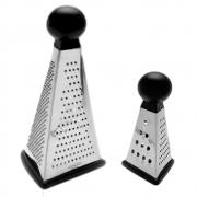 Kit Ralador Triângulo p/Mesa em Inox 16,5/23,5cm  Mimo Style