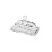 Manteigueira cristal Pearl 14x9x9cm Wolff