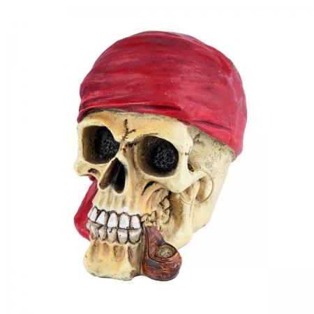 Mini Caveira Red Scarf  6x8x10 cm