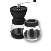 Moedor de café manual com recipiente 18,5x17,5cm Mimo Style