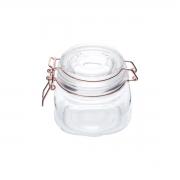 Pote vidro hermético Cooper Flip cobre 11x10cm 500ml Urban