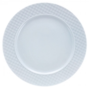 Prato de sobremesa porcelana branca Ekose 20cm Mimo Style