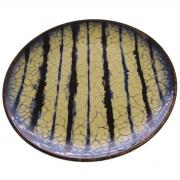 Prato sobremesa Coup Grunge 20 cm azul Porto Brasil