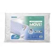 Travesseiro Move 70x50x13 cm Fibrasca