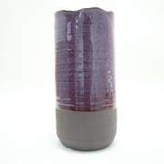 Vaso cerâmica cilindro pequeno 18x10 cm Santa Cecília