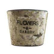 Vaso Flowers Garden Grande 18x14 cm
