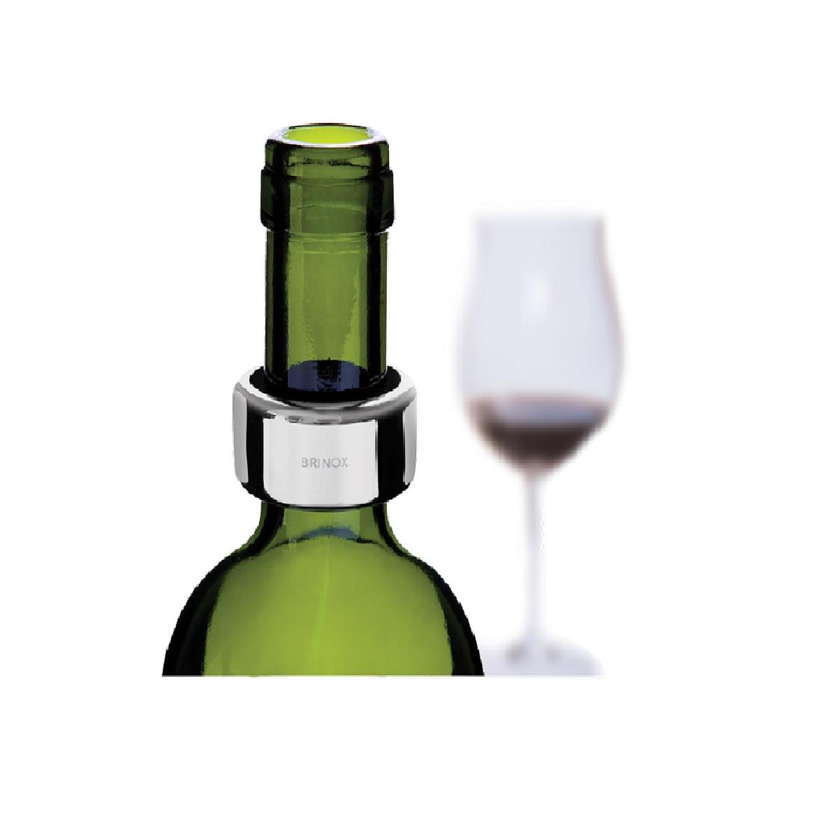 Anel corta gotas para vinho em inox 4x2cm Brinox
