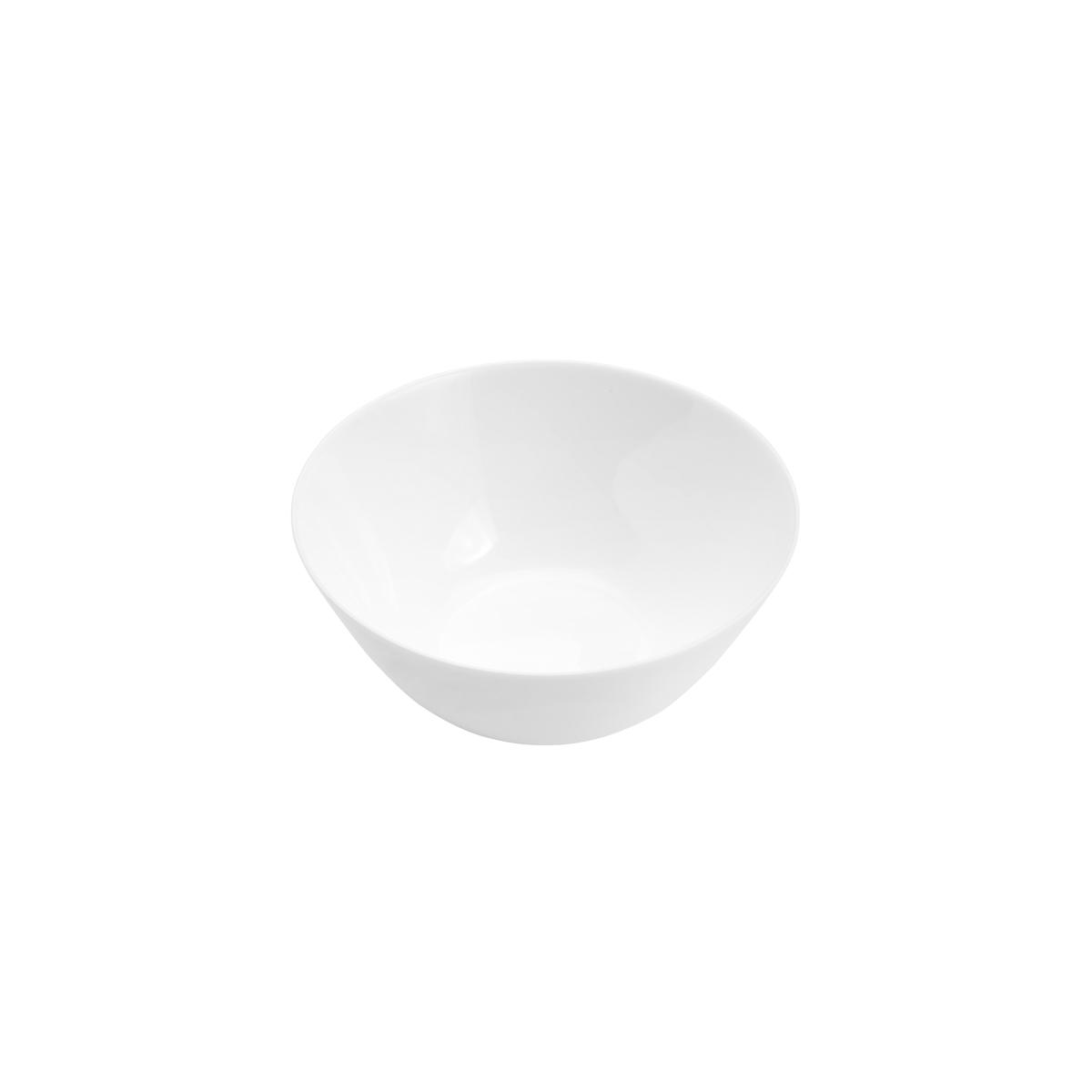 Bowl de vidro opalino Branco Zelie 18x7,5ml Lyor