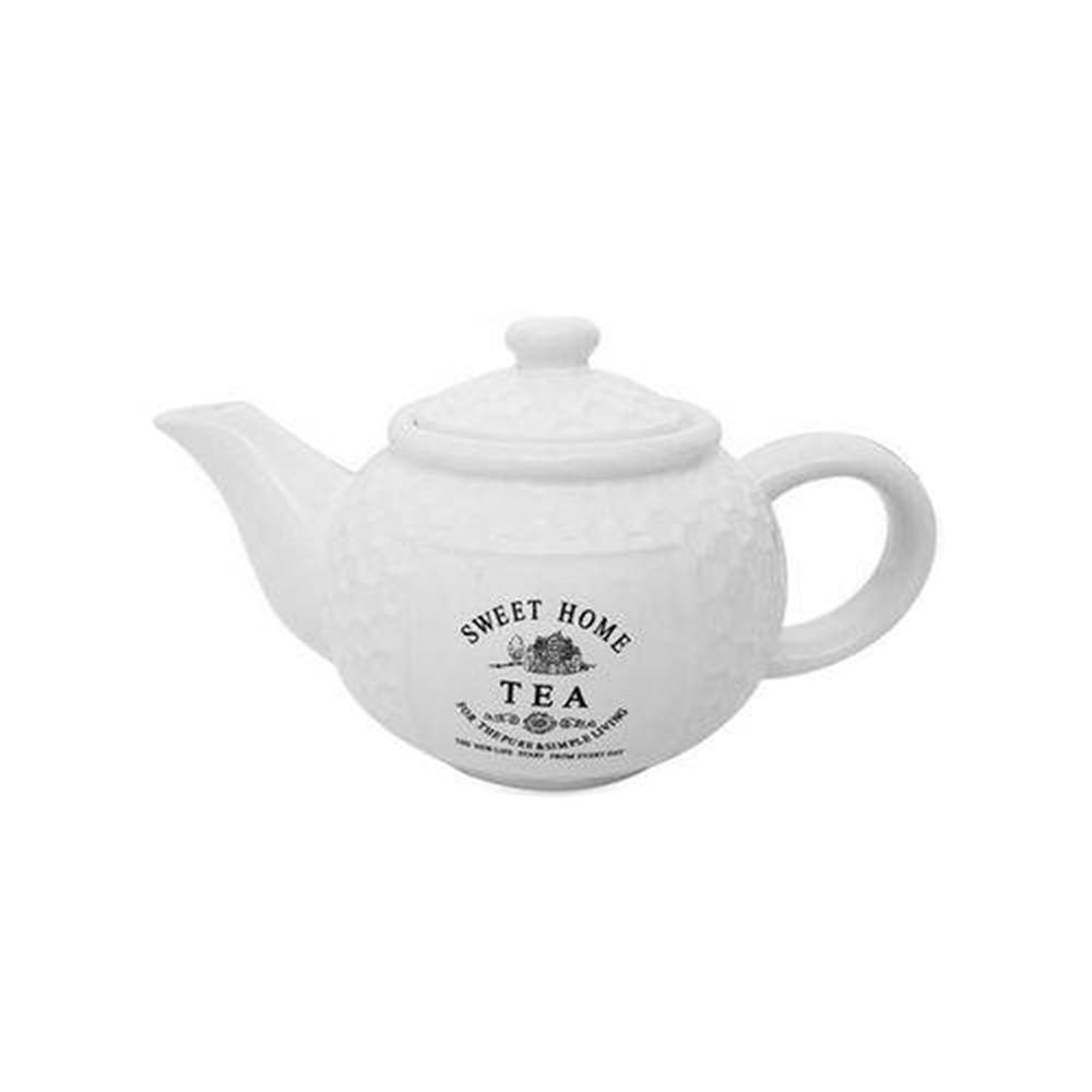 Bule porcelana para chá Sweet Home 950 ml Bon Gourmet