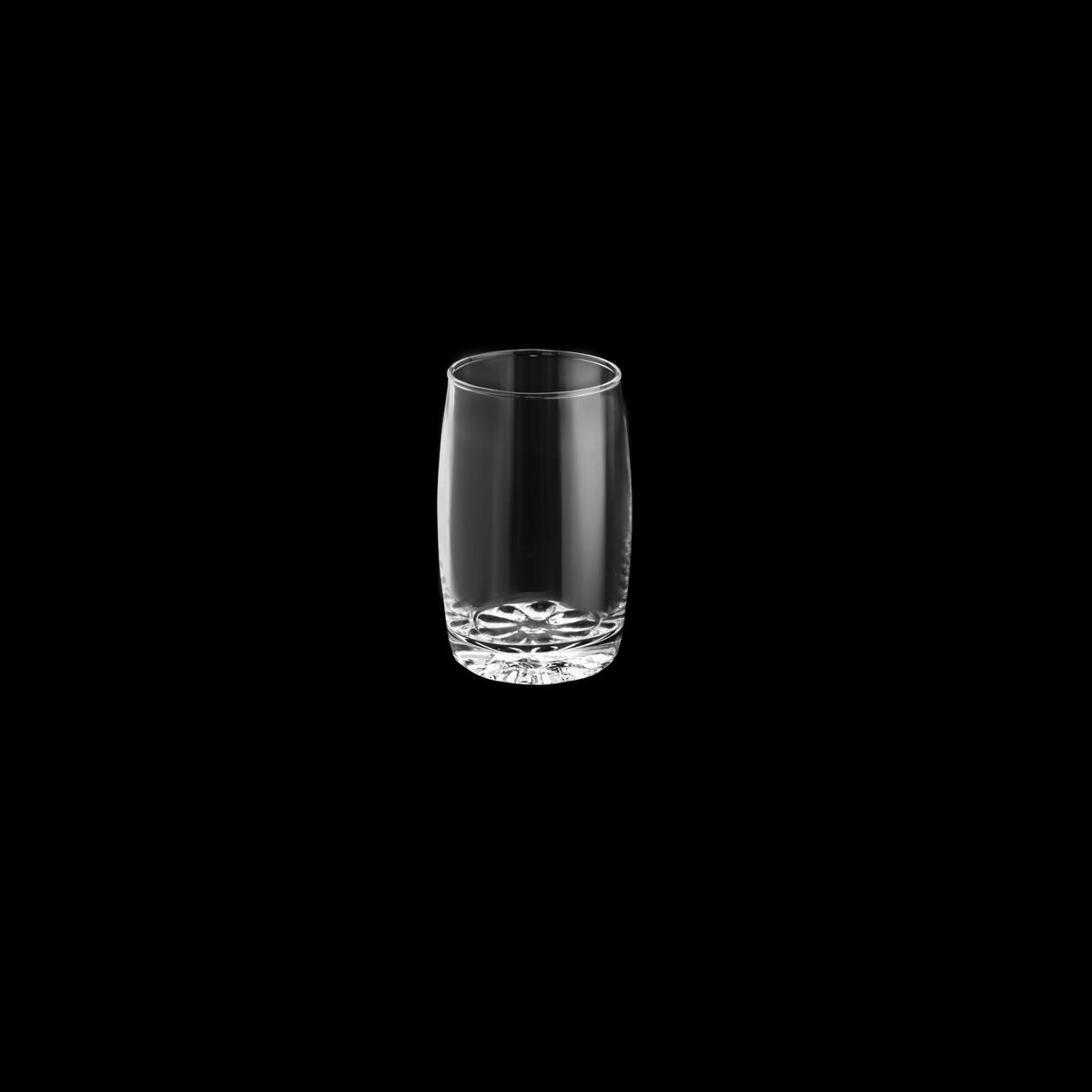 Conjunto 6 copos vidro Geovana 7x10cm 260ml Lyor