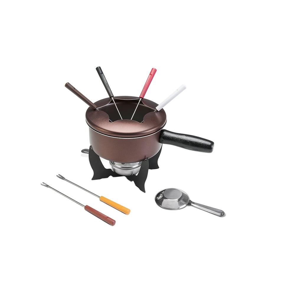 Conjunto fondue chocolate 10 pcs 16 cm Brinox