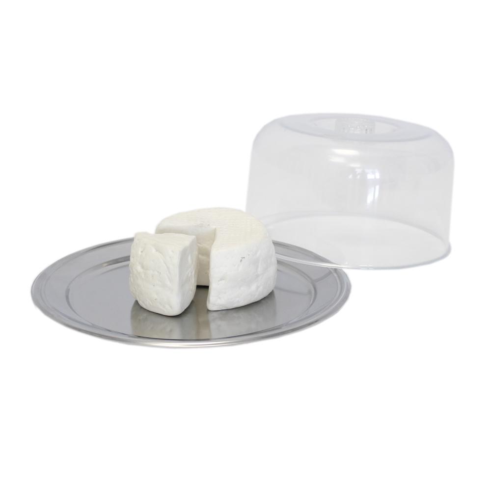 Conjunto porta queijo inox e ps 23x11cm Petúnia Brinox