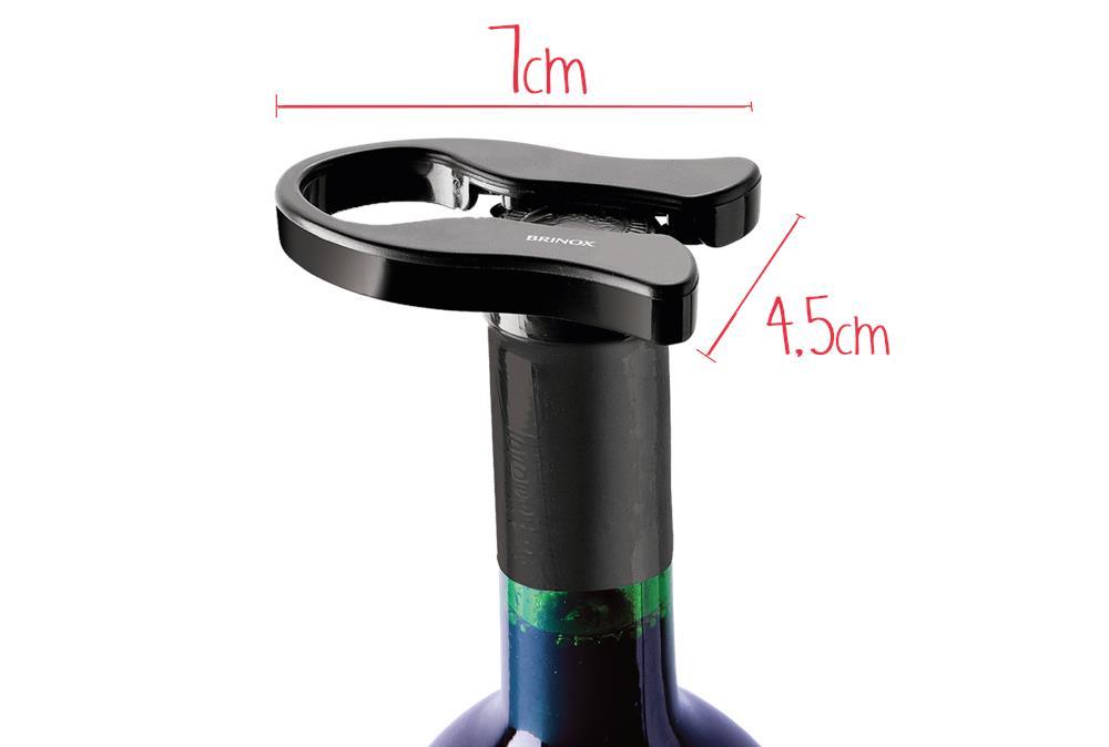 Cortador de lacre para vinho 4,5x7x1cm Brinox