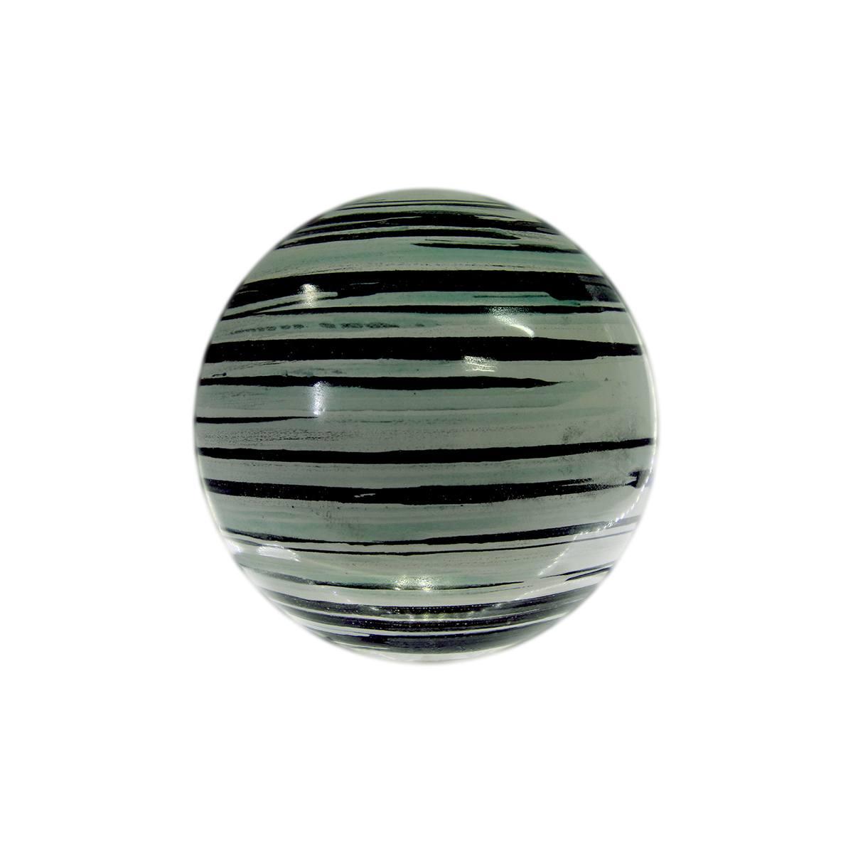 Esfera de cerâmica esmaltada Netuno 10 cm Monte Real