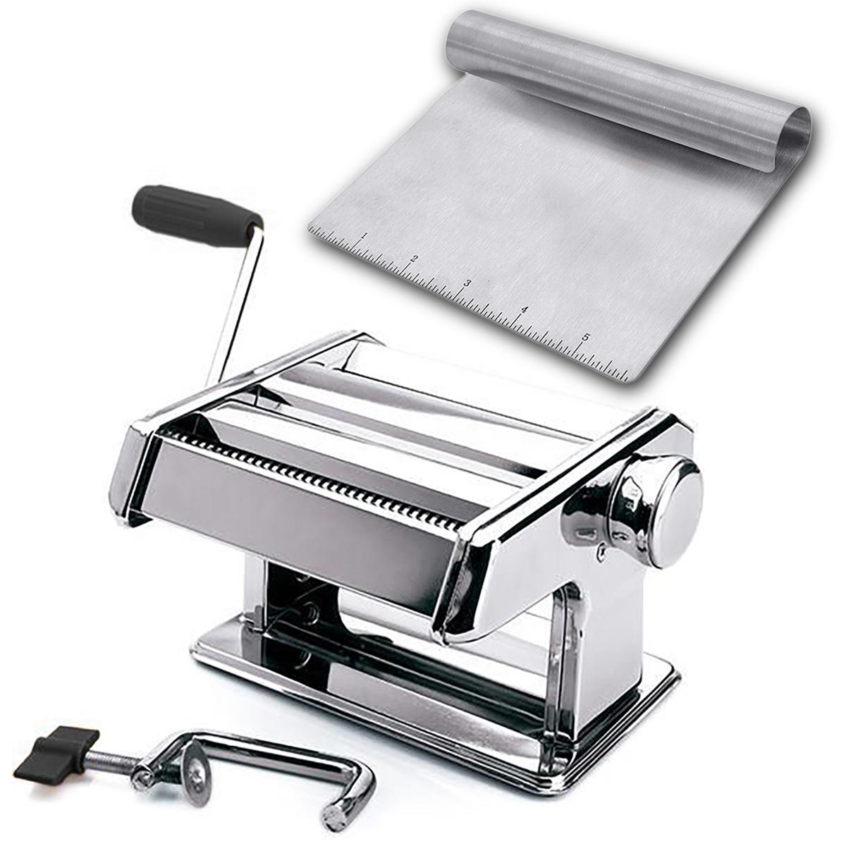 Espátula inox e máquina para macarrão  Mimo Style