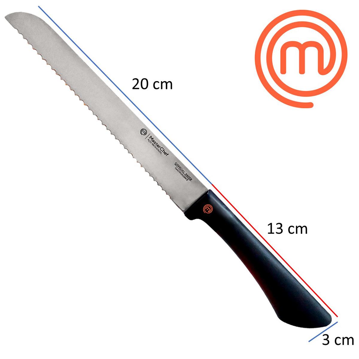 Faca 8 Pão Official Knife Gastronomie MasterChef