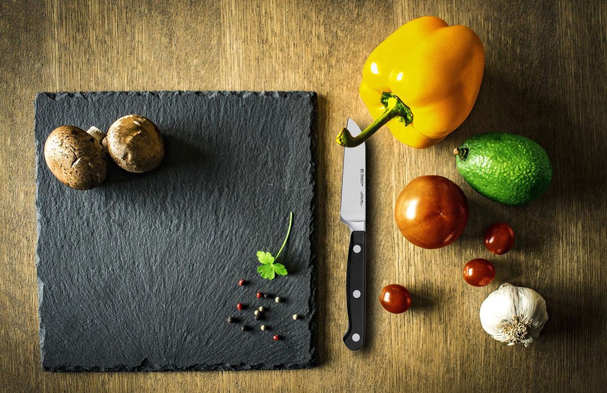 Faca do Chef Legumes 3,5 MasterChef Profissional Line Inox