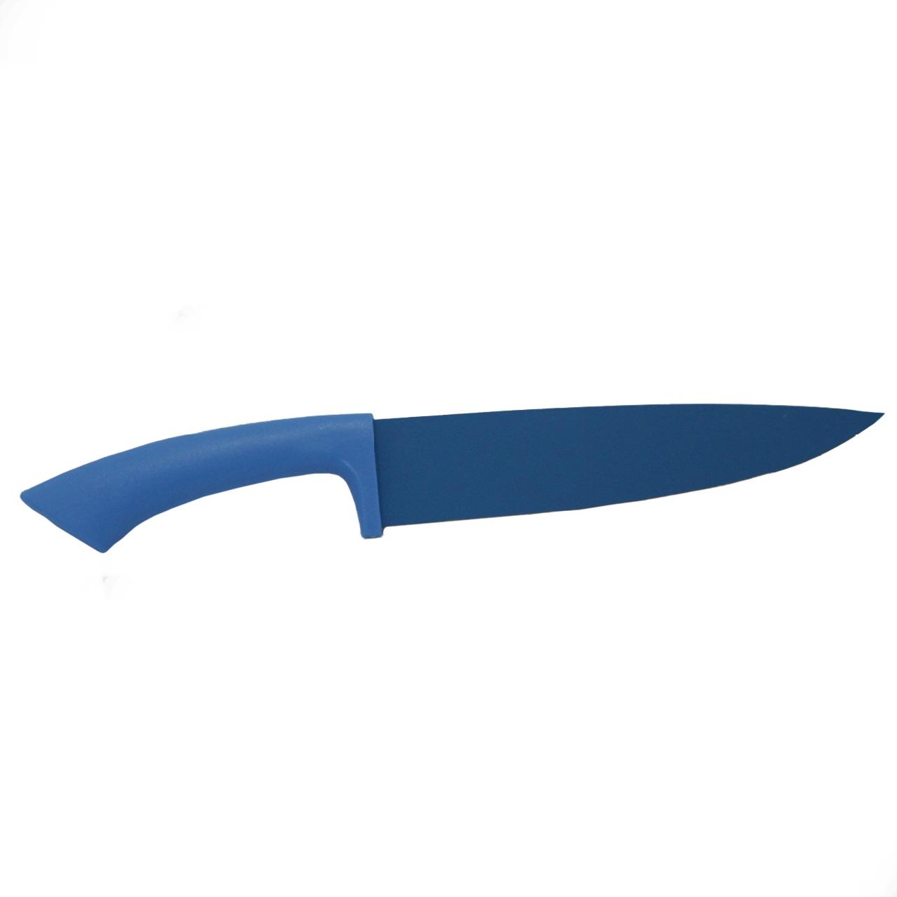 Faca do Chefe 8 em Inox Antiaderente Azul Dynasty