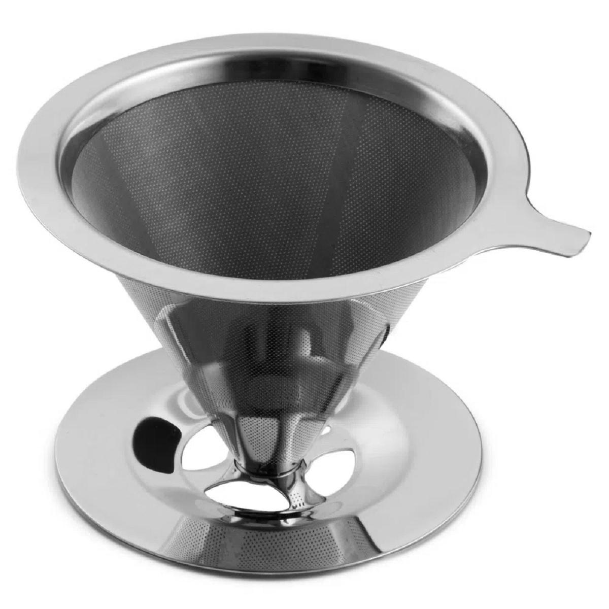 Filtro de Café Reutilizável Inox 8x11cm Mimo Style