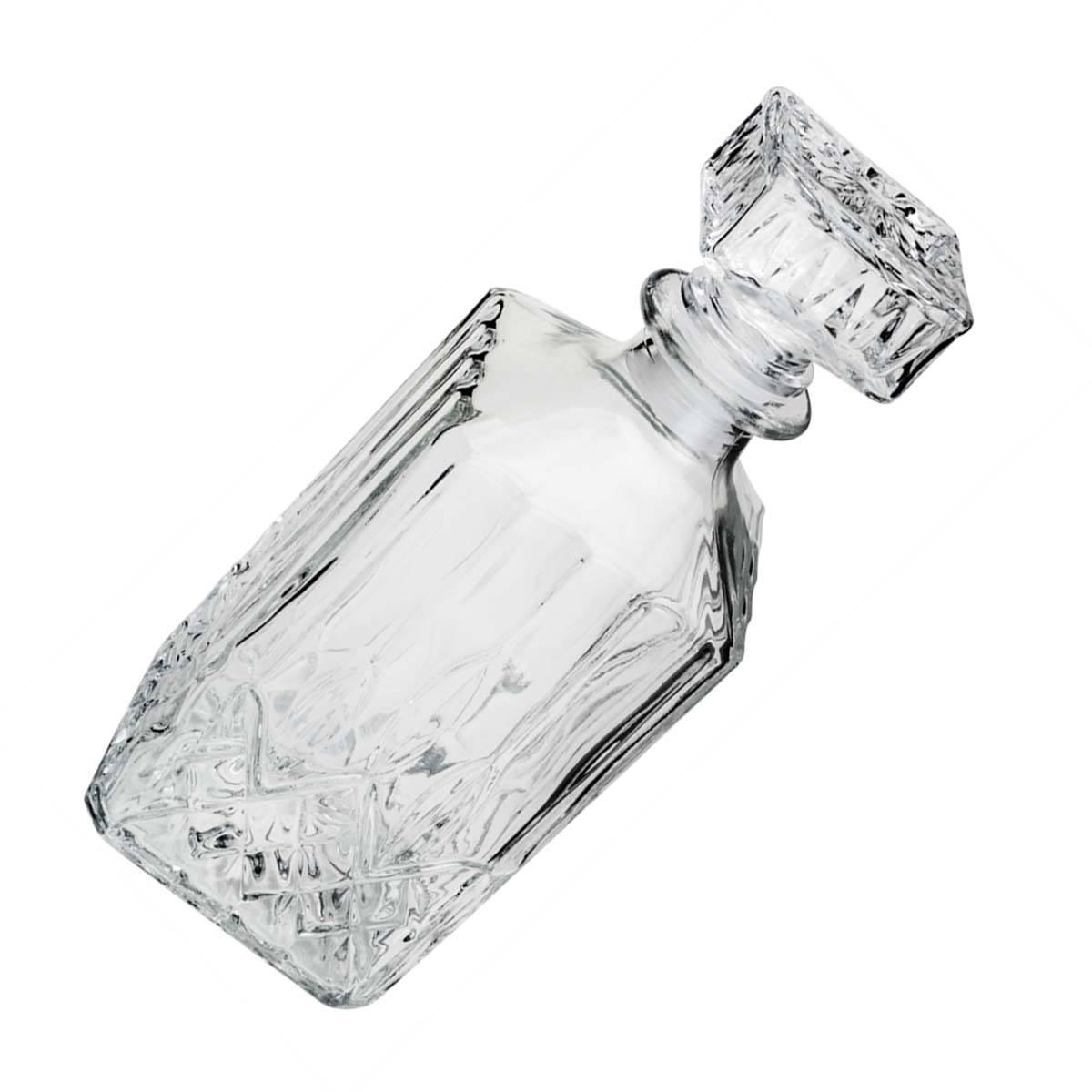 Garrafa De Whisky Vidro Hamilton 9x24cm 700 ml Lyor