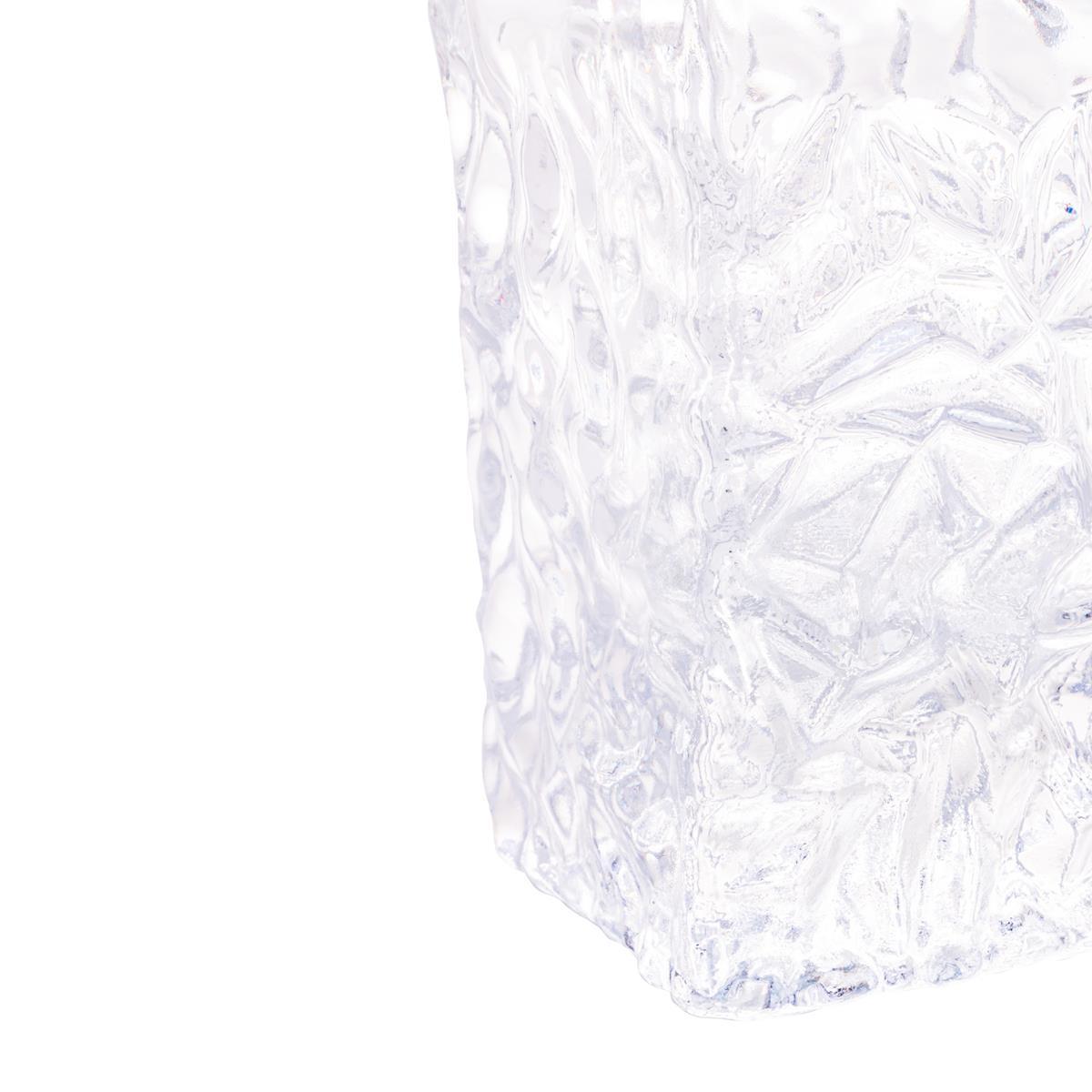 Garrafa whisky e licor cristal 11,5x6,5x23,5cm 700ml Rojemac
