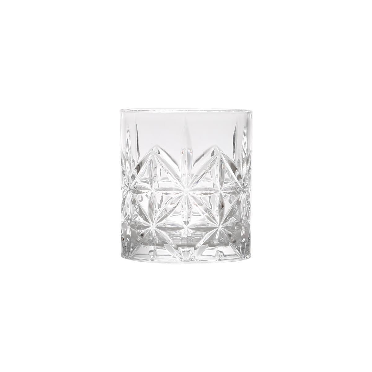 Jogo 6 copos whisky vidro Stella 300ml 9x8cm Bon Gourmet