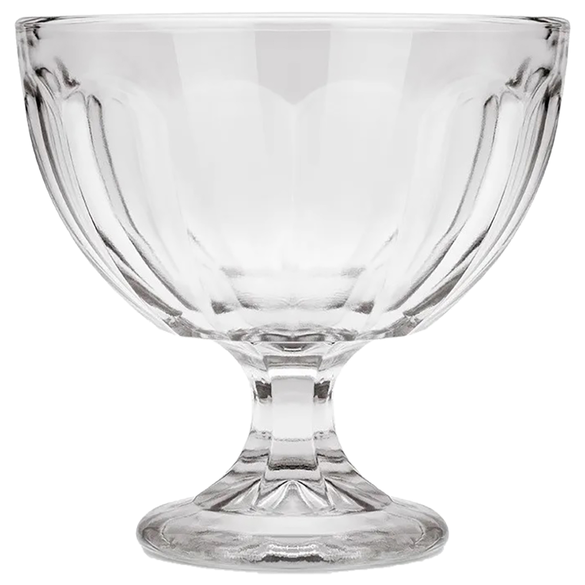 Jogo 6 Taças Sobremesa Vidro Pavillion 485ml 12x12cm Brinox