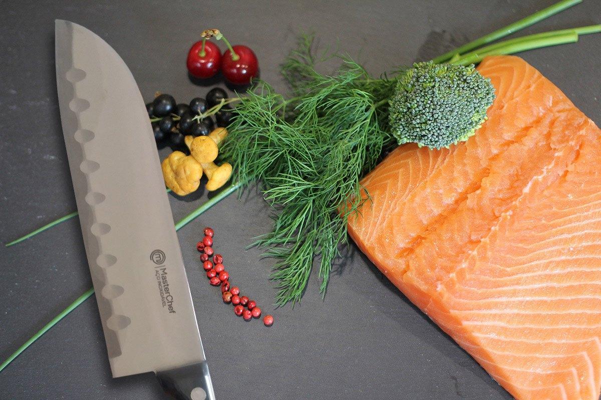 Kit 3 Facas do Chef Quotidien Series Forjada MasterChef