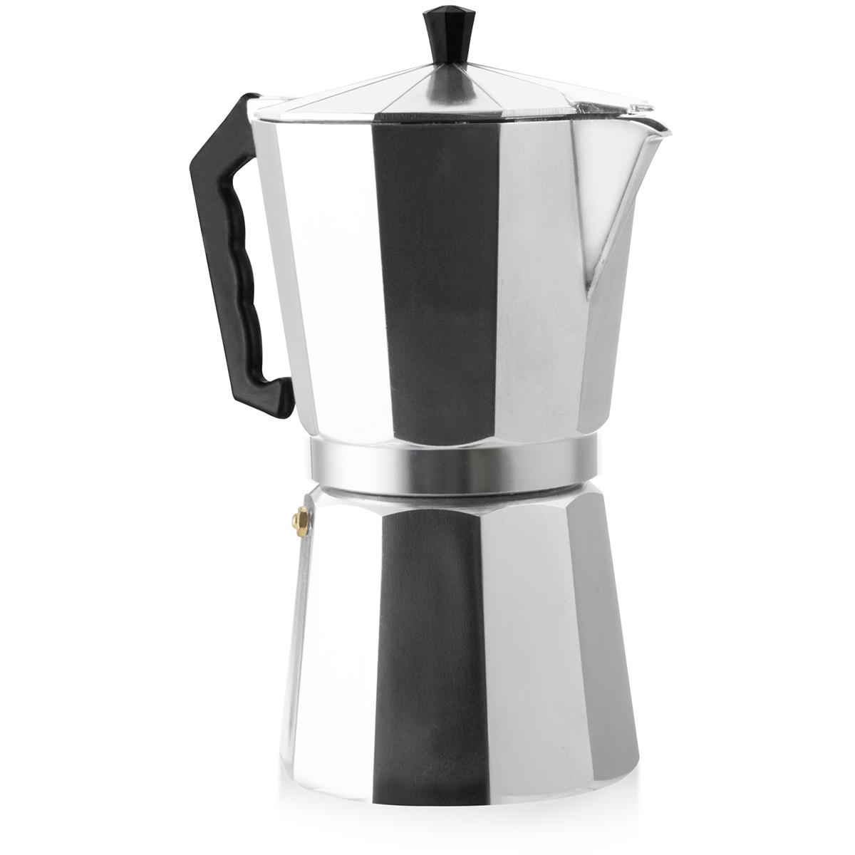 Kit cafeteira italiana e moedor de café Mimo Style