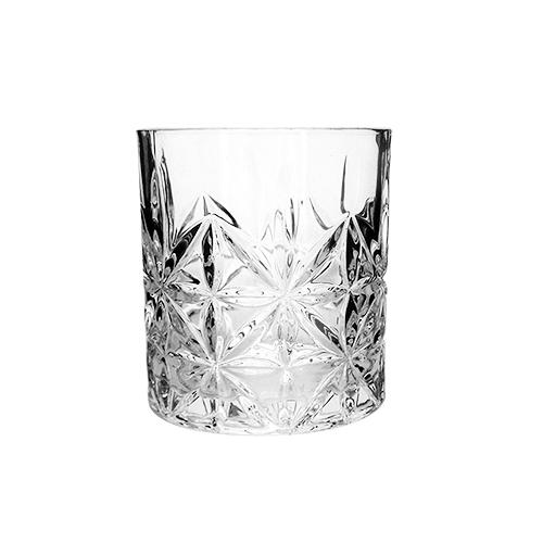 Kit garrafa 800ml e 6 copos vidro Lijita 340ml Mimo Style