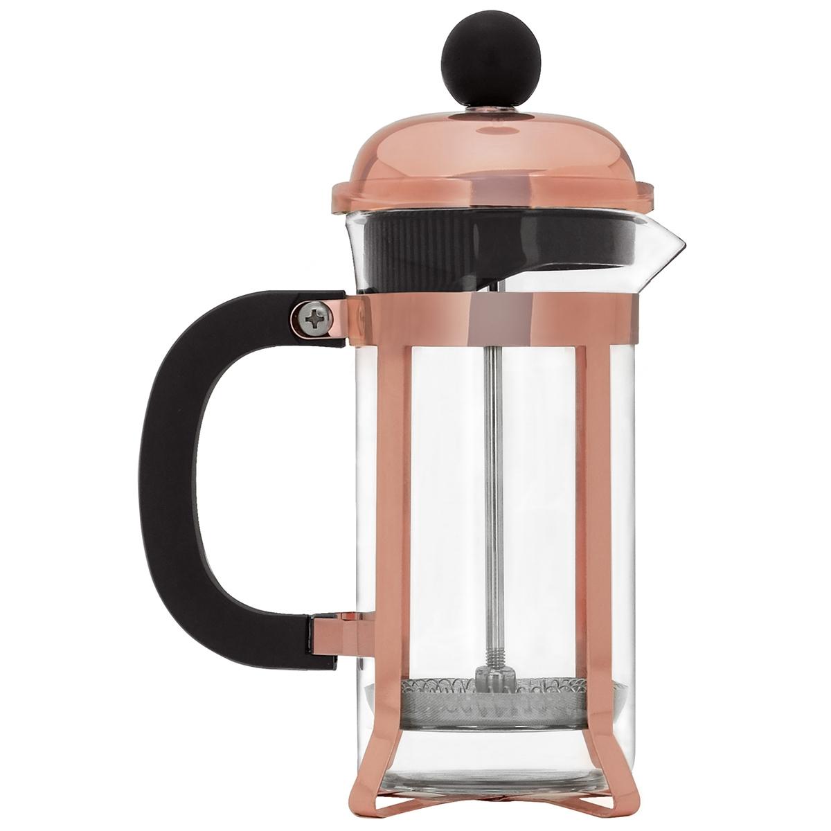 Kit prensa francesa bronze 350 ml  moedor de café Mimo Style