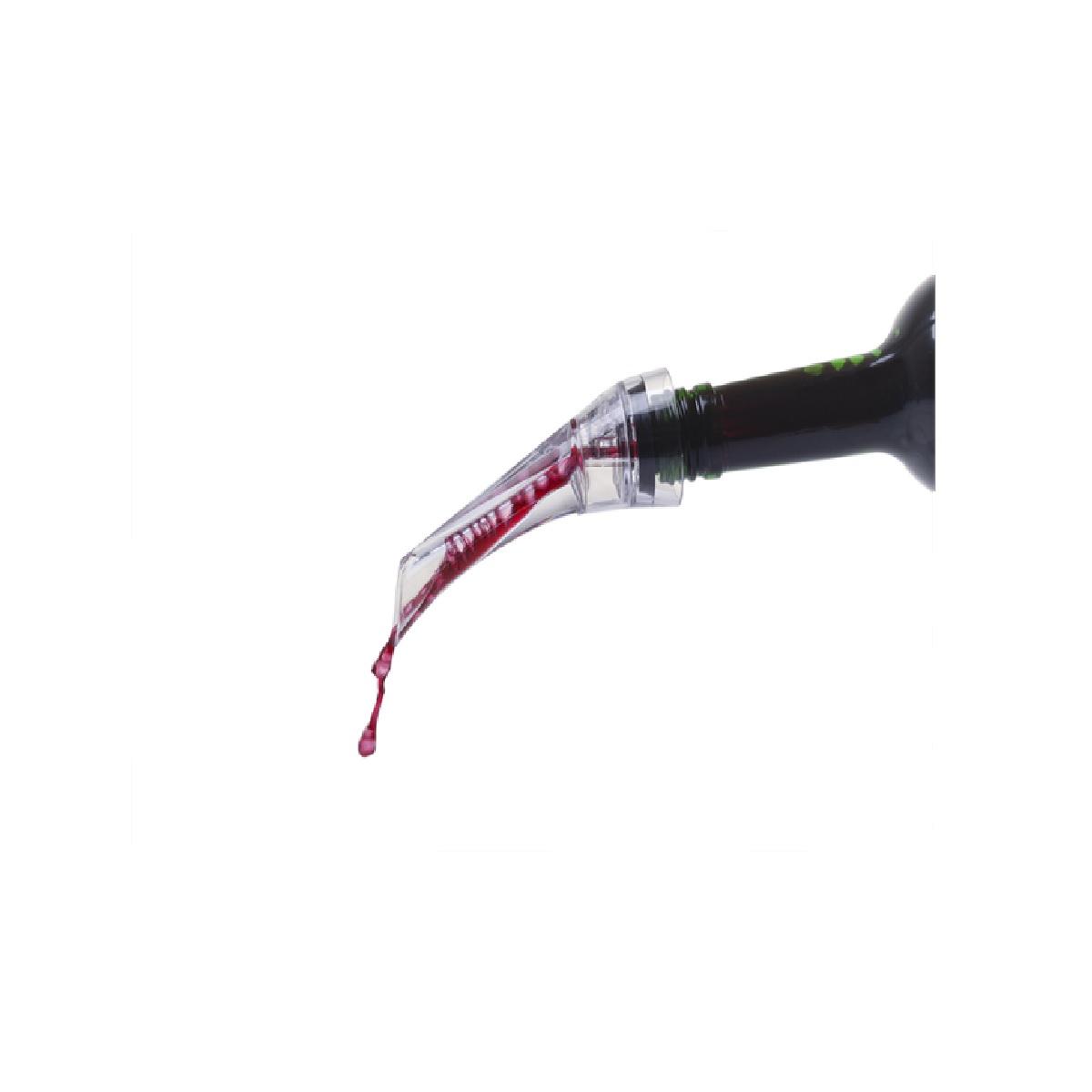 Kit Saca Rolha Aerador Anel Cortador d Lacre para Vinho Brinox