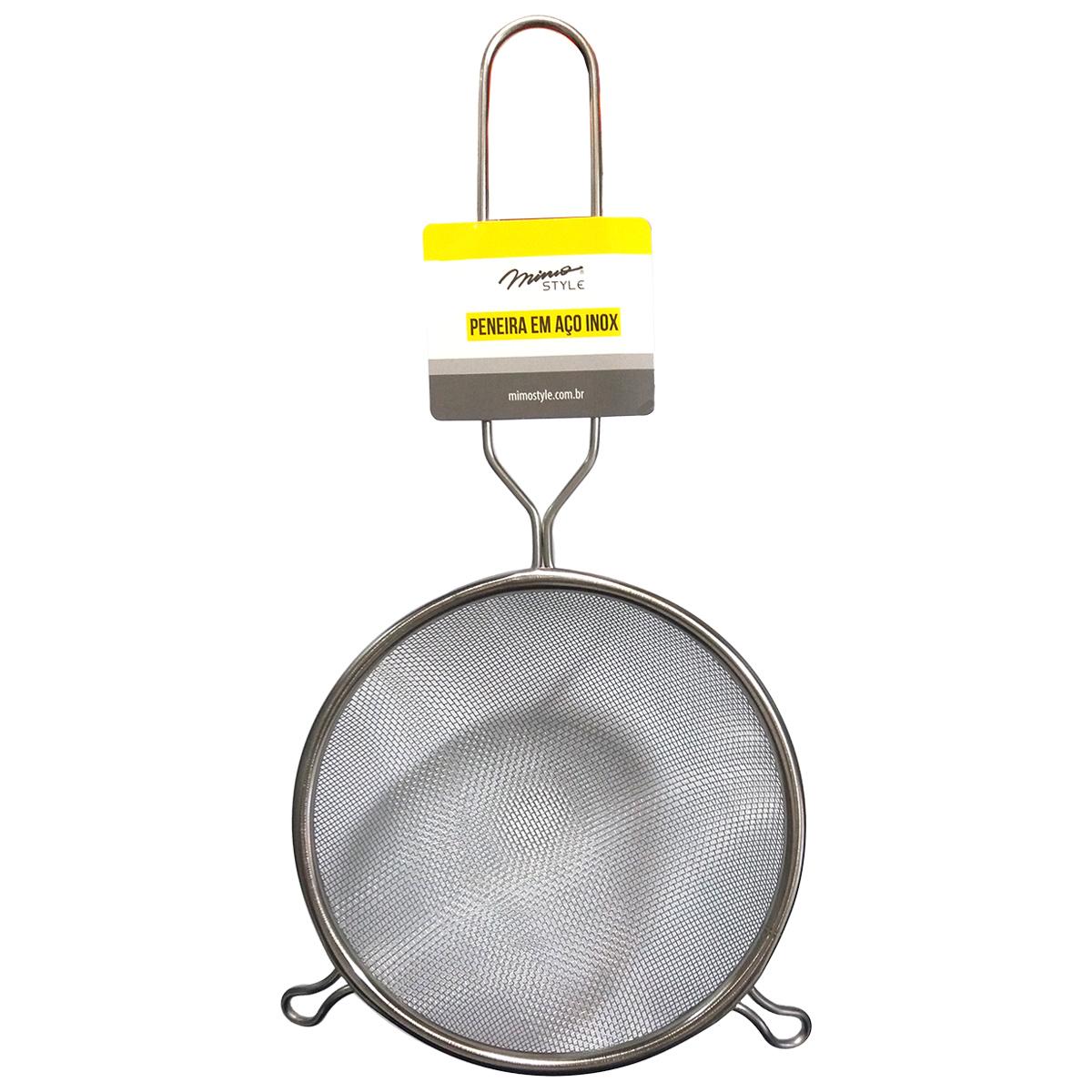 Peneira Inox 15x30cm Mimo Style