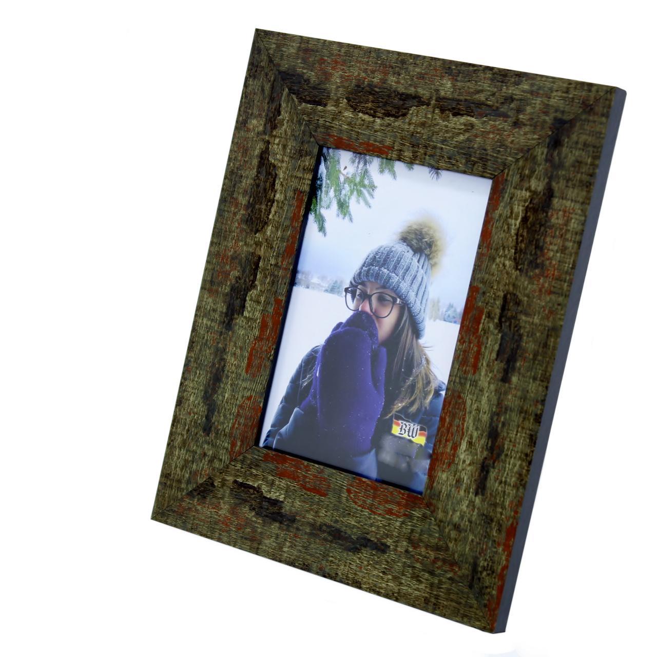 Porta Retrato 13X18 Madeira Tingida (1065/0020)