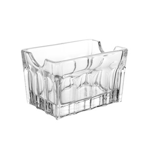 Porta sache de vidro sodo-calcico Faces 8,5x6,3x5,5cm Lyor