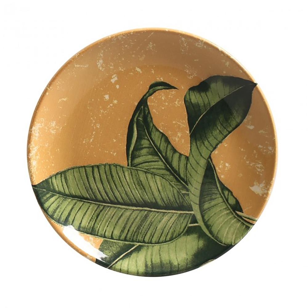 Prato Sobremesa Coup Tulum 20,5x2,5cm Porto Brasil