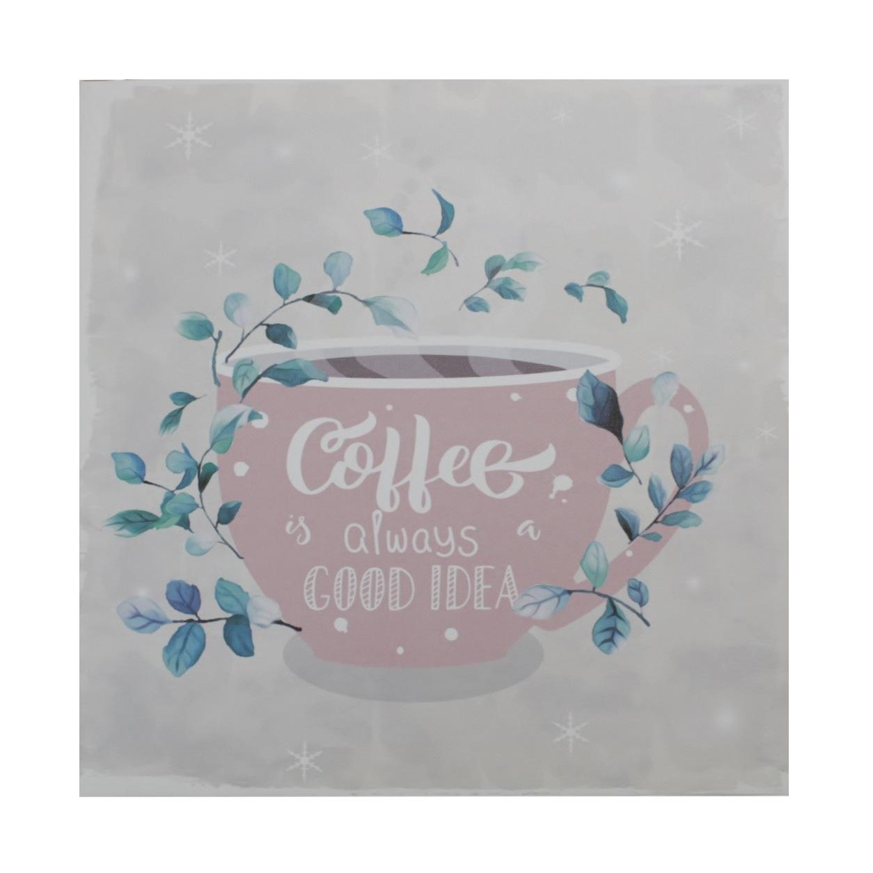 Quadro Cup of Coffee 28x28