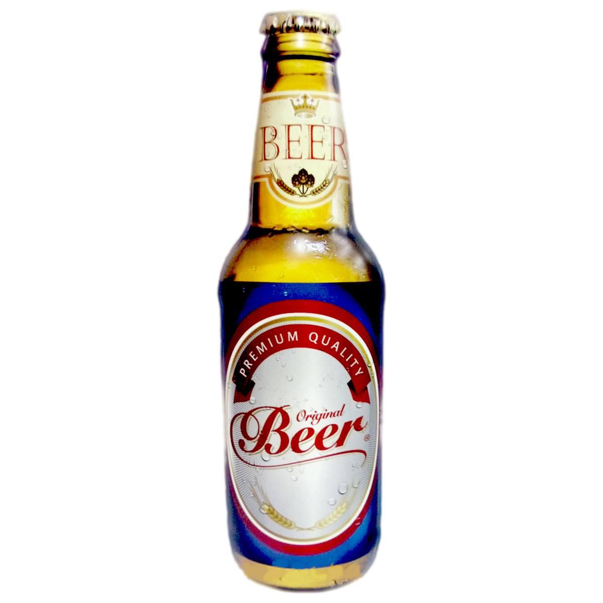 Quadro Garrafa Original Beer 45 x 13 cm