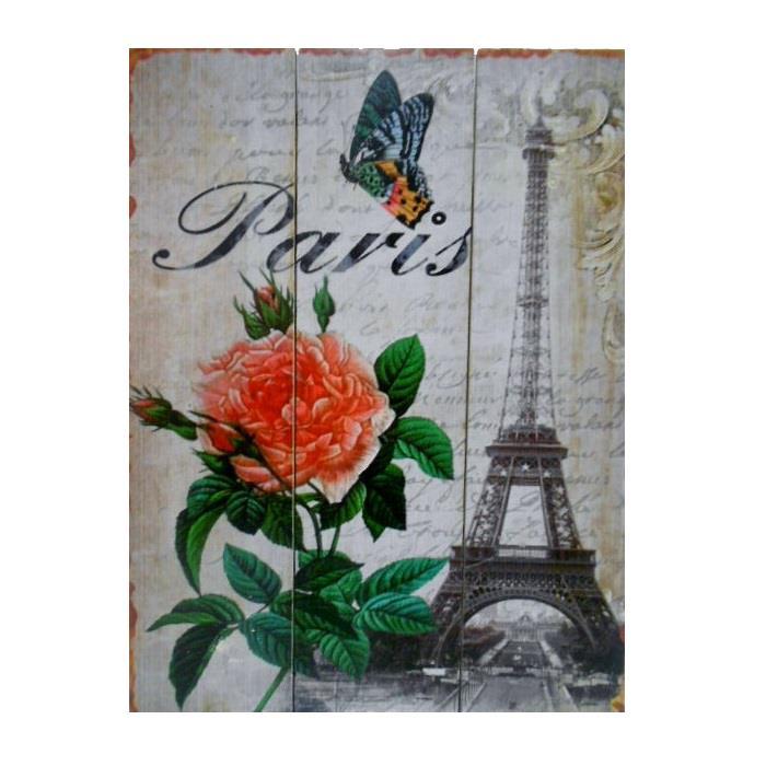 Quadro Paris 40 x 30 cm