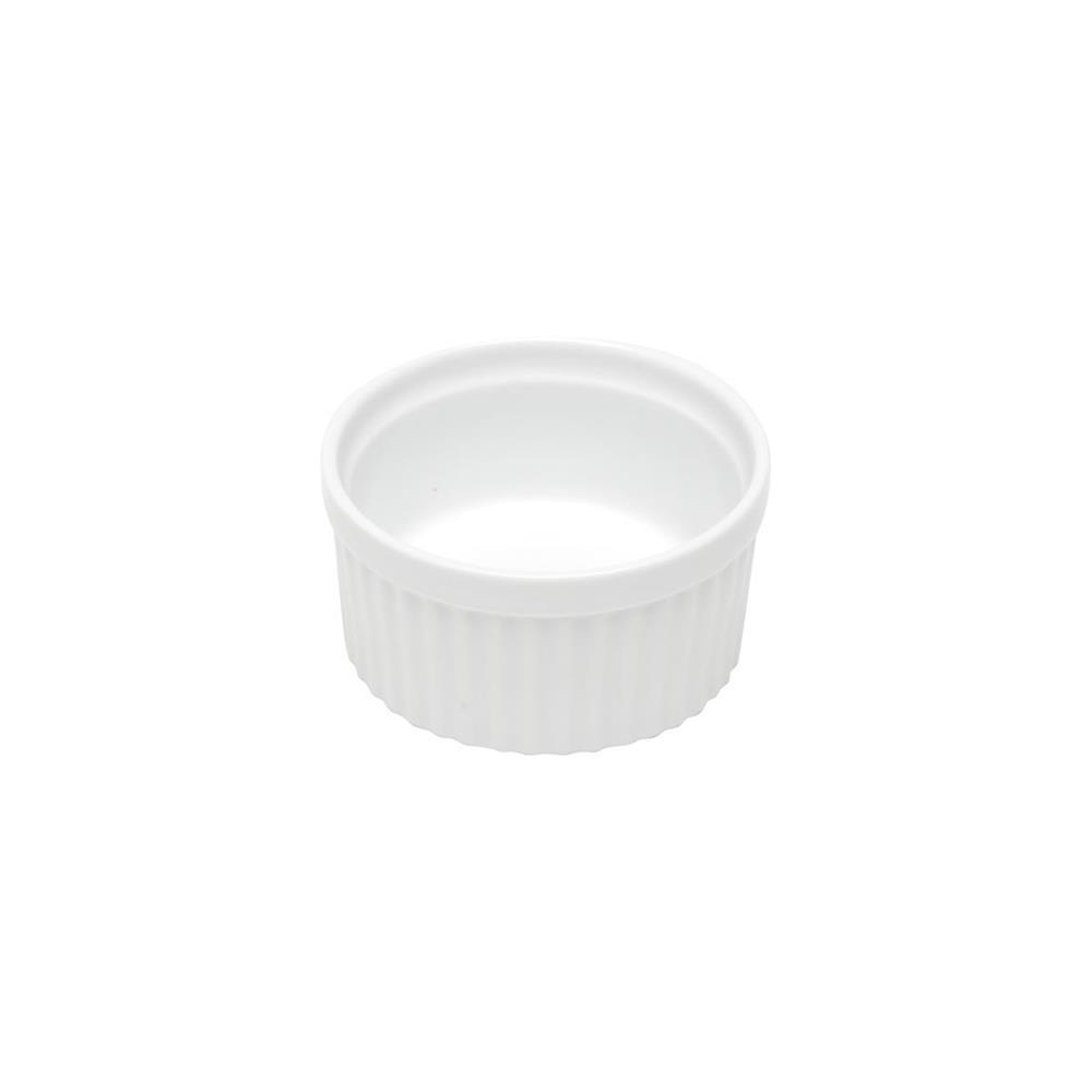 Ramequim porcelana Classic branco 50ml 8,5x5 cm Lyor