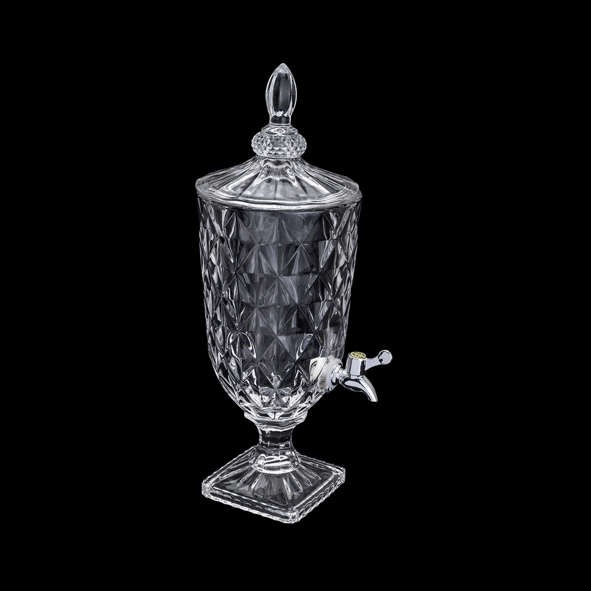 Suqueira cristal ecológico Diamante 3l 17x49cm Lyor