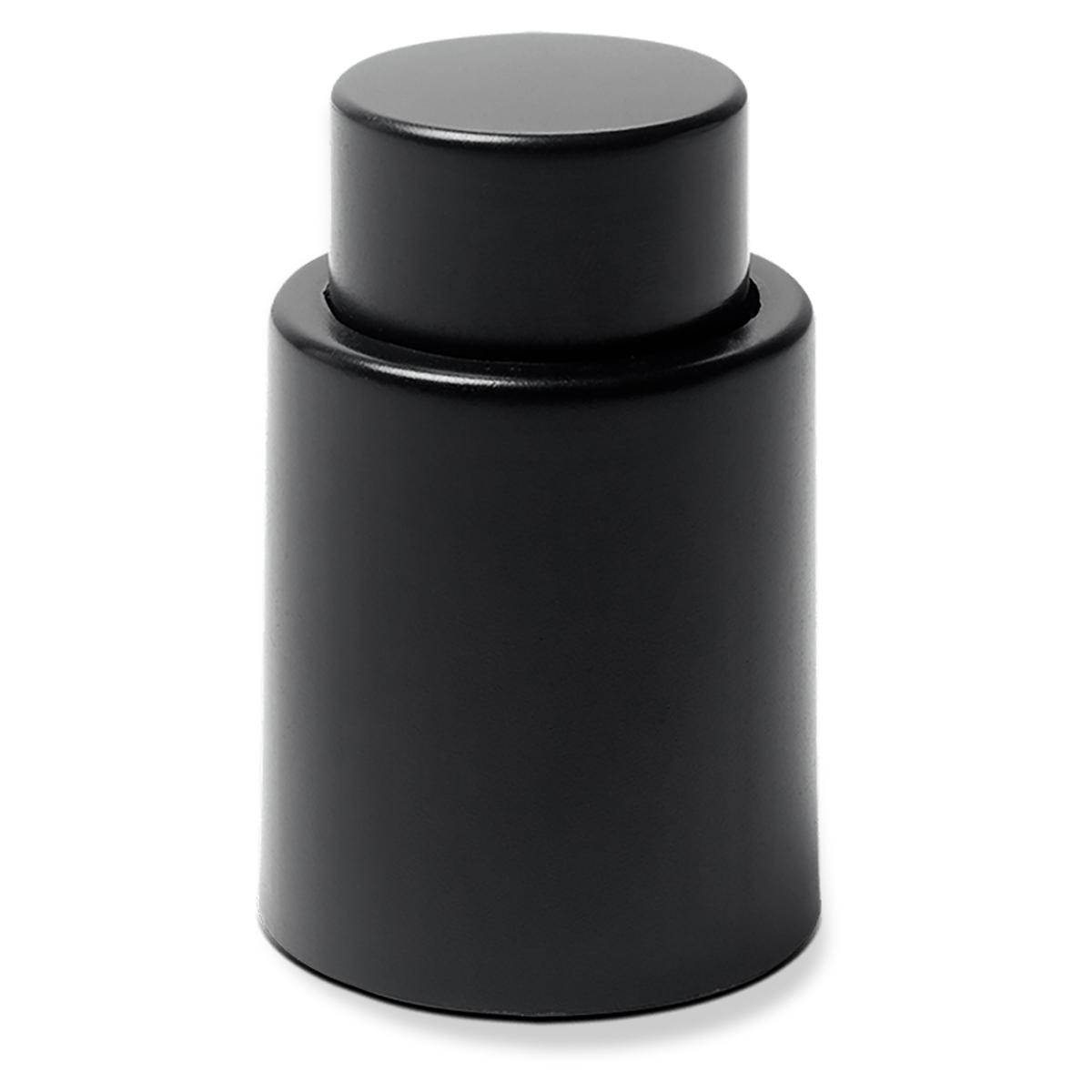 Tampa de pressão p garrafas de vinho Ø4,7x7,2cm Preto Brinox