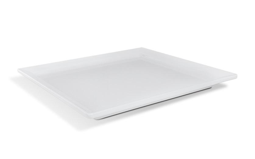 Travessa Gastronorm Melamina Branco 35,4X32,5x3cm Brinox