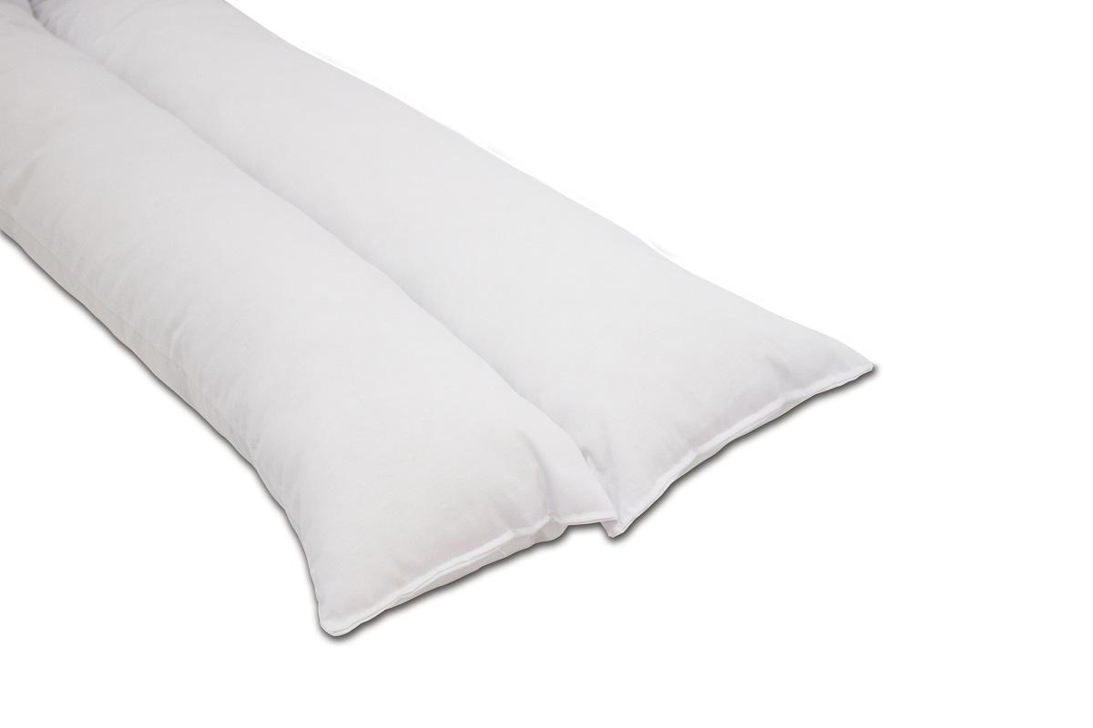 Travesseiro de corpo anatômico 130x40x14cm Fibrasca